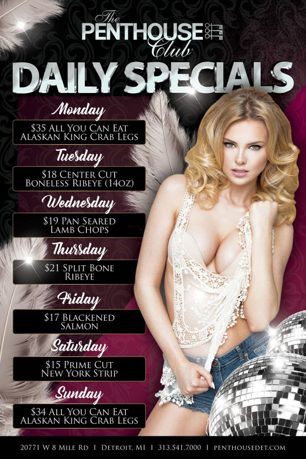 Penthouse Daily Specials 2017 New Girl